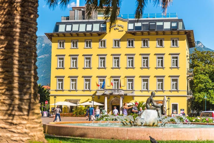 The Grand Hotel Riva in Riva, Lake Garda, Italy