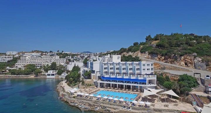Mavi Hotel In Bodrum Aegean Coast Turkey