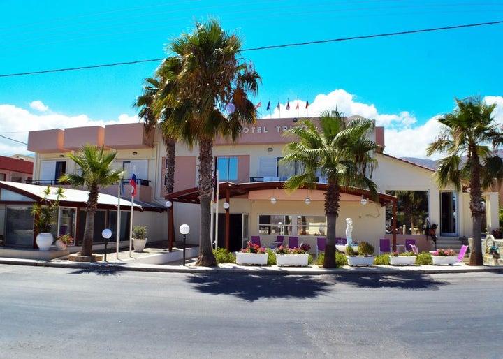 Triton Hotel in Malia, Crete, Greek Islands