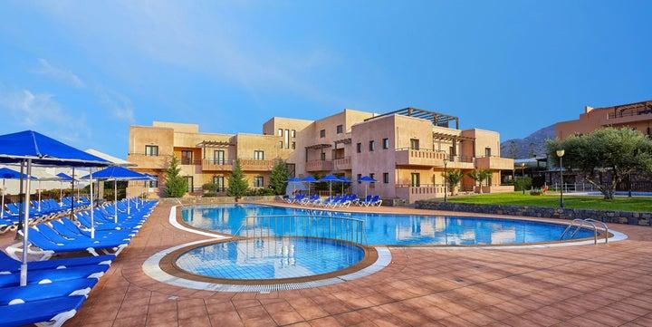 Sentido Vasia Beach Resort and Spa in Sissi, Crete, Greek Islands