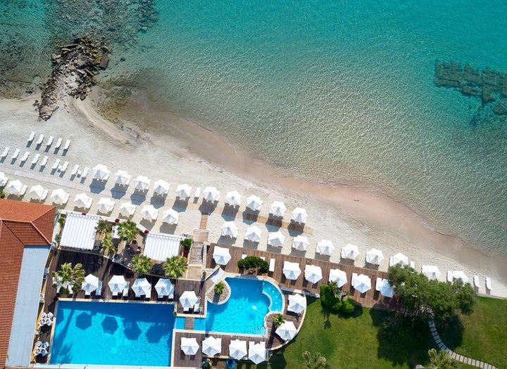 Afitis Boutique Hotel in Afitos, Halkidiki, Greece
