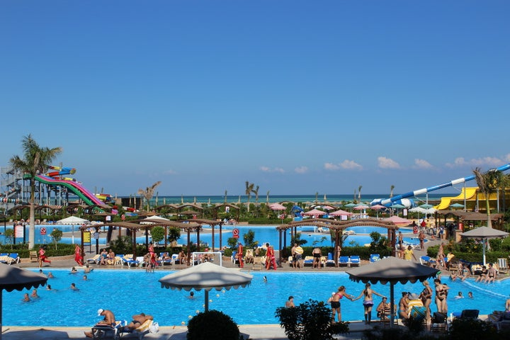 Hawaii Caesar Palace Hotel & Aqua Park (EX. Mirage Aqua Park Hotel & Spa) in Hurghada, Red Sea, Egypt
