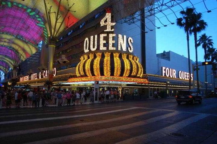 Four Queens Hotel & Casino in Las Vegas, Nevada, USA