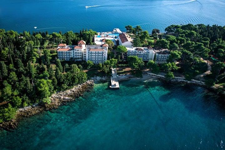Katarina Hotel in Rovinj, Istrian Riviera, Croatia