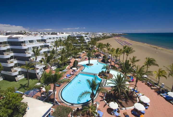 Suite Hotel Fariones Playa in Puerto del Carmen, Lanzarote, Canary Islands
