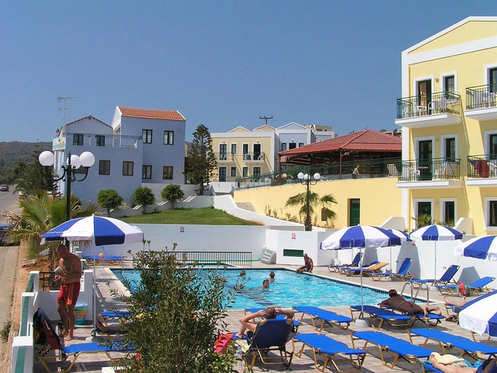 Camari Gardens Apartments in Gerani, Crete, Greek Islands