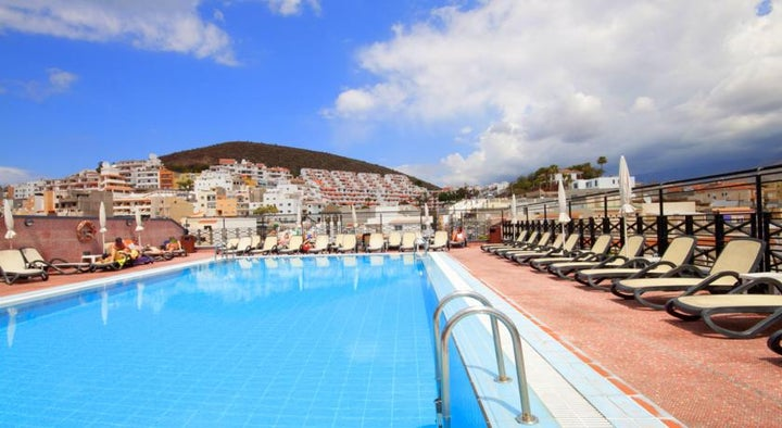 Reveron Plaza Hotel in Los Cristianos, Tenerife, Canary Islands