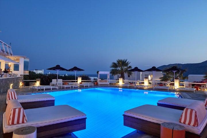 Archipelagos Hotel in Kalo Livadi, Mykonos, Greek Islands