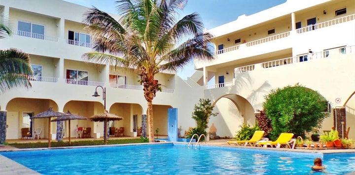 Hotel Pontao in Santa Maria (Cape Verde), Cape Verde Islands