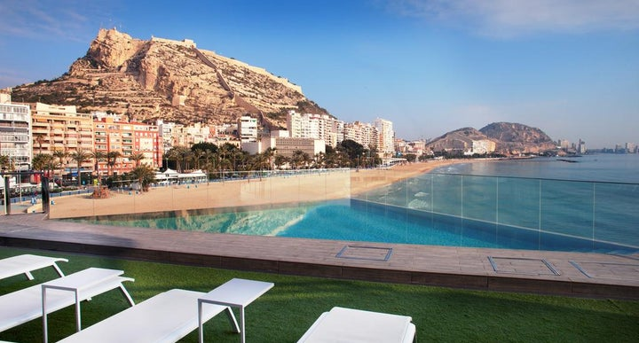 Melia alicante in alicante spain holidays from 452pp - Hotels in alicante with swimming pool ...