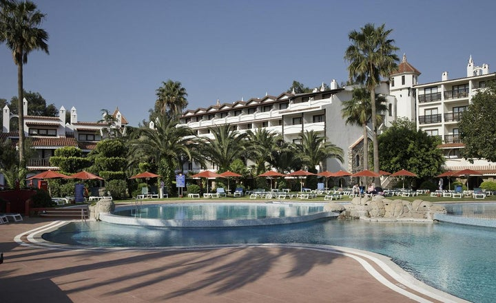 Marti Resort Hotel in Icmeler, Dalaman, Turkey
