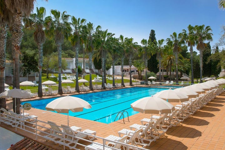 Hotel Club Tropicana in Cales de Majorca, Majorca, Balearic Islands