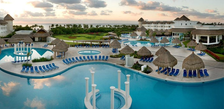 Grand Sunset Princess All Suites & Spa in Playa del Carmen, Mexico