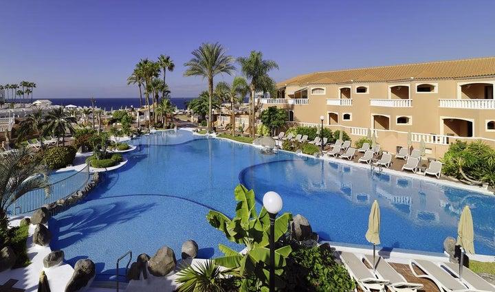 Sol Sun Beach in Costa Adeje, Tenerife, Canary Islands
