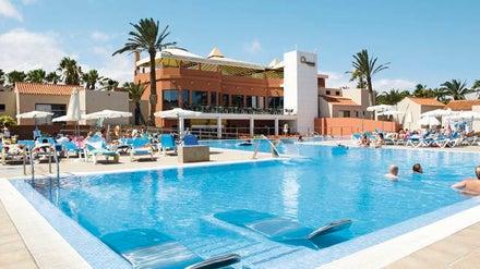 Cay Beach Caleta in Caleta de Fuste, Fuerteventura, Canary Islands