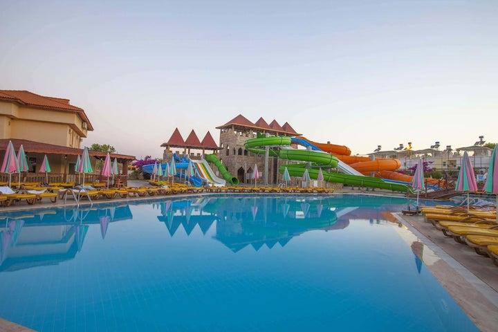 Eftalia Village Hotel in Alanya, Antalya, Turkey