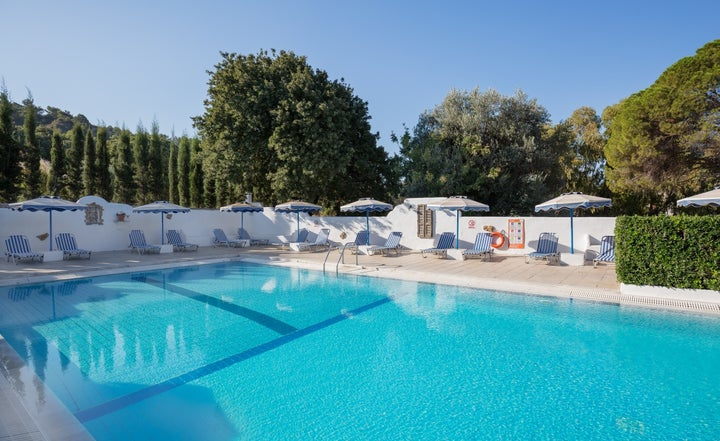 Nathalie Hotel in Ixia, Rhodes, Greek Islands