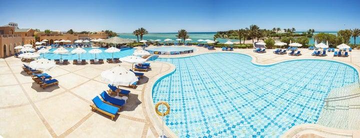 Bellevue Beach Hotel in El Gouna, Red Sea, Egypt