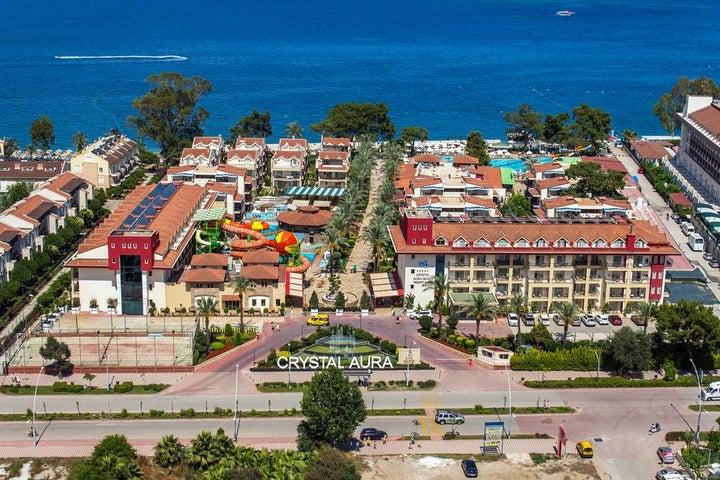 Crystal Aura Beach Resort And Spa in Kemer, Antalya, Turkey