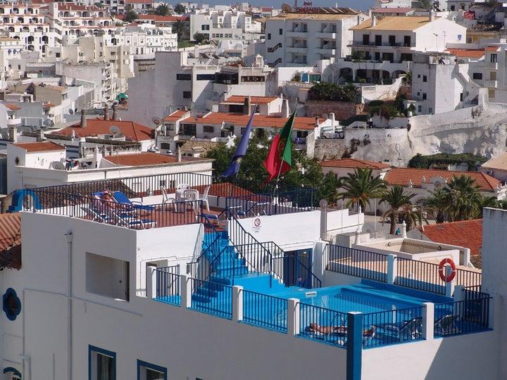 Regina Apartments in Albufeira, Algarve, Portugal