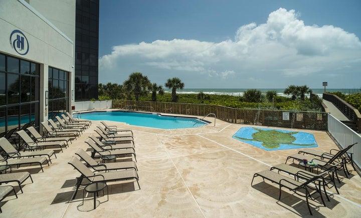 Hilton Cocoa Beach Oceanfront in Cocoa Beach, Florida, USA