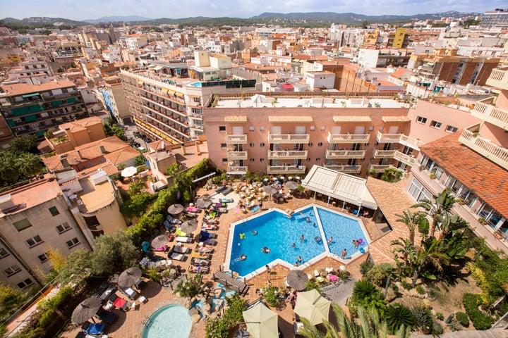 Alba Seleqtta Hotel in Lloret de Mar, Costa Brava, Spain
