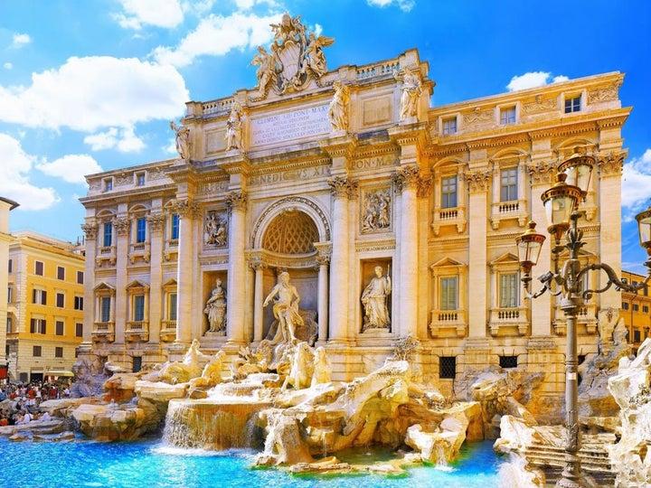 Invictus in Rome, Italy
