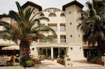 Miray Hotel in Icmeler, Dalaman, Turkey