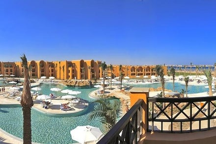 Stella Di Mare Beach Resort (ex Stella Beach Makadi Resort & Spa) in Makadi Bay, Red Sea, Egypt