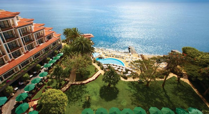 The Cliff Bay Hotel in Funchal, Madeira, Portugal