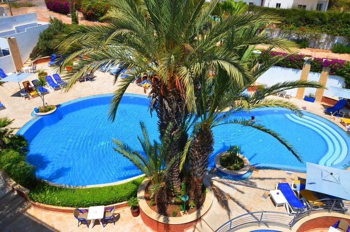 Golden Beach Apparthotel in Agadir, Morocco