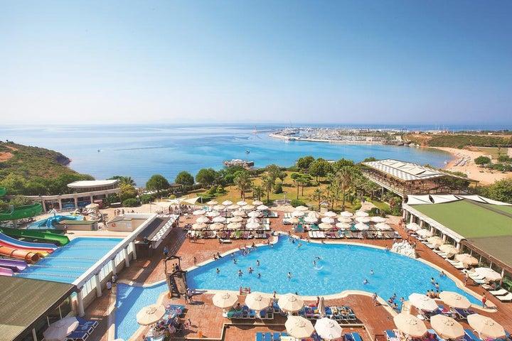 Didim Beach Resort Aqua And Elegance Thalasso in Altinkum, Aegean Coast, Turkey