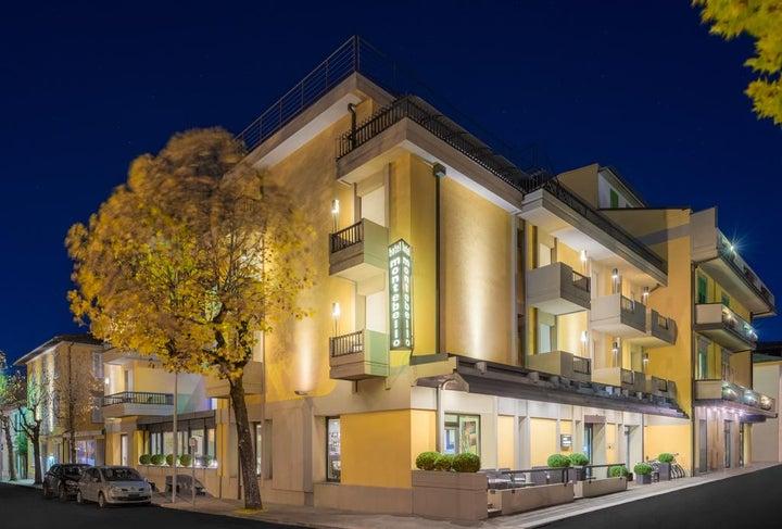 Montebello Hotel in Montecatini, Tuscany, Italy