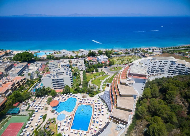 Olympic Palace Resort Hotel & Convention Center in Ixia, Rhodes, Greek Islands
