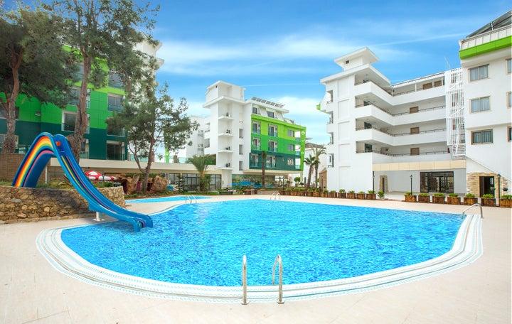 Green Life Hotel in Alanya, Antalya, Turkey