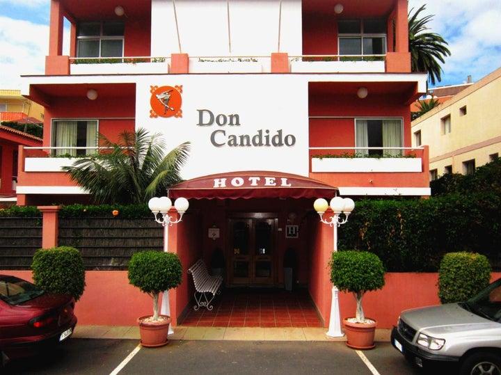 Hotel Don Candido in Puerto de la Cruz, Tenerife, Canary Islands