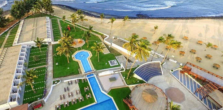 Sunbeach Hotel and Resort in Cape Point, Gambia