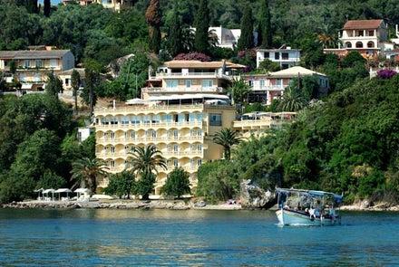 Pontikonissi in Perama, Corfu, Greek Islands