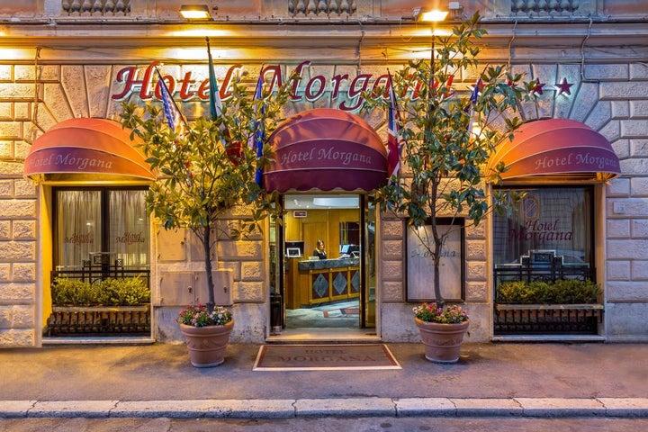 Morgana Hotel in Rome, Italy