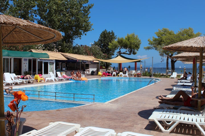 Koulouris Beach Hotel in Kavos, Corfu, Greek Islands