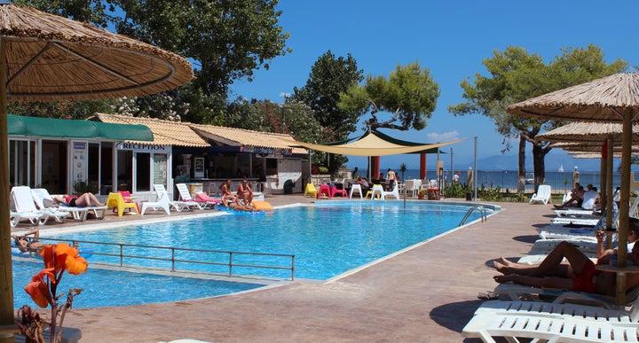 Koulouris Beach Hotel In Kavos Corfu Greek Islands