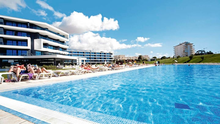 Alvor Baia Hotel Apartments in Alvor, Algarve, Portugal