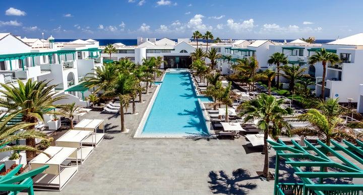 Barcelo Teguise Beach In Costa Lanzarote Canary Islands