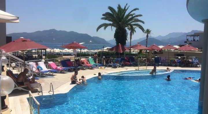 Orka Club Nergis Beach Hotel in Marmaris, Dalaman, Turkey