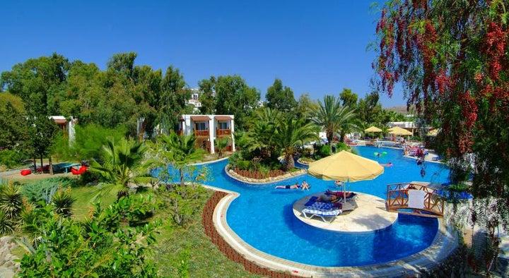 Magnific Hotel in Gumbet, Aegean Coast, Turkey
