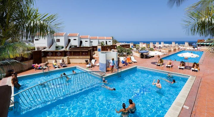 Villa Adeje Beach in Costa Adeje, Tenerife, Canary Islands