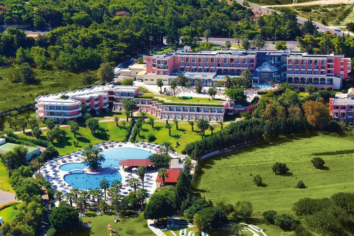 Kresten Palace Hotel in Kalithea, Rhodes, Greek Islands