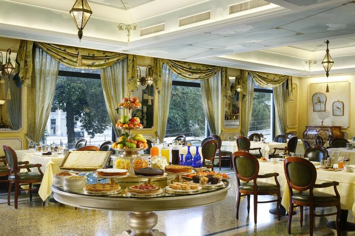 Grand Hotel Savoia in Genoa, Liguria, Italy