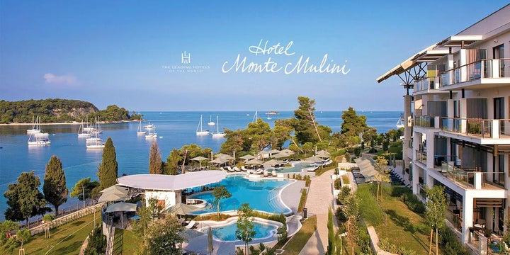 Hotel Monte Mulini in Rovinj, Istrian Riviera, Croatia