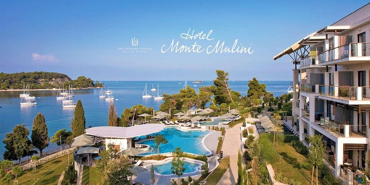 Monte Mulini in Rovinj, Istrian Riviera, Croatia